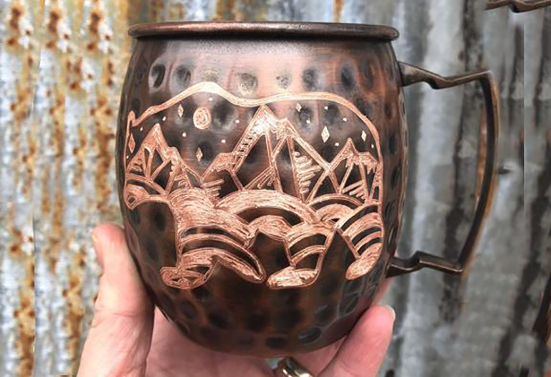 Copper Bear Mug
