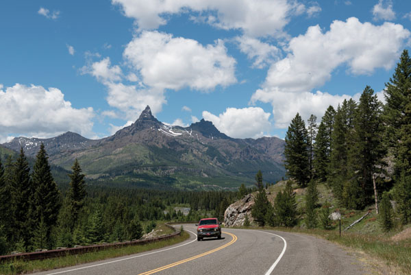 Beartooth Highway | Pilot and Index Peak, Wyoming Absaroka Range