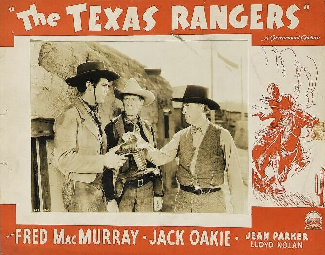 Texas Rangers lobby card