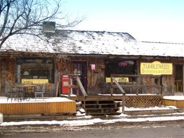 Tumbleweed Bookstore and Cafe, Gardiner, MT