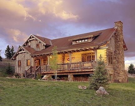 Montana Home Log Architecture And Building Photos