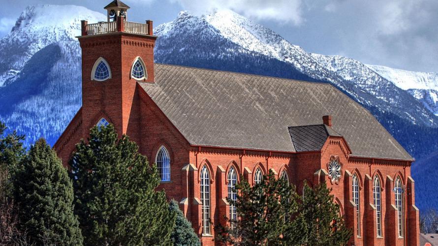Sacred Architecture In Montana Distinctly Montana Magazine