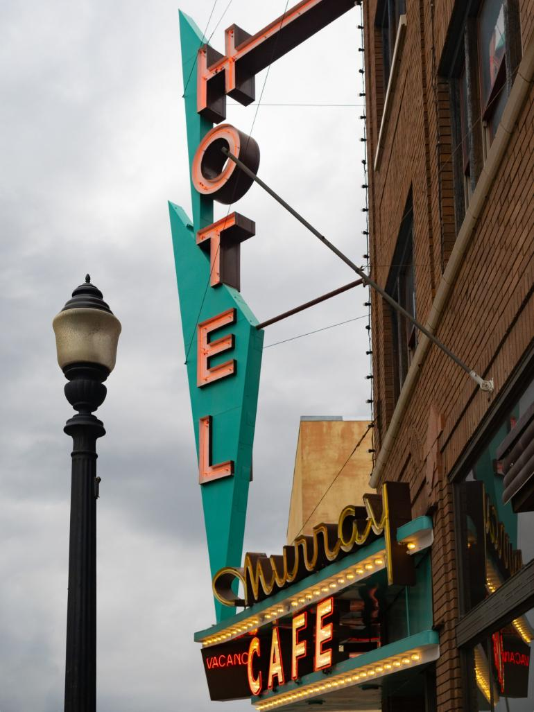 The Murray Hotel in Livingston, MT
