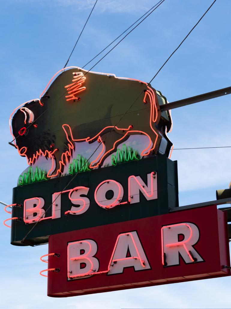 4. Bison Bar in Miles City, Montana