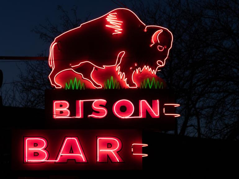 4. The Bison Bar in Miles City, Montana