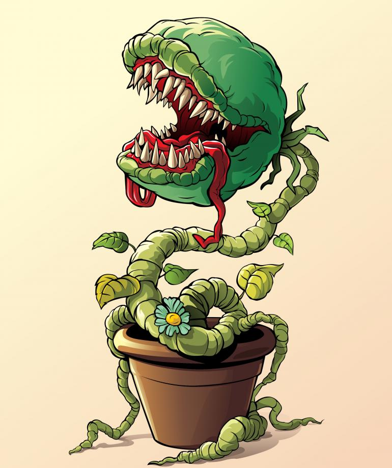 Evil Potted Plant