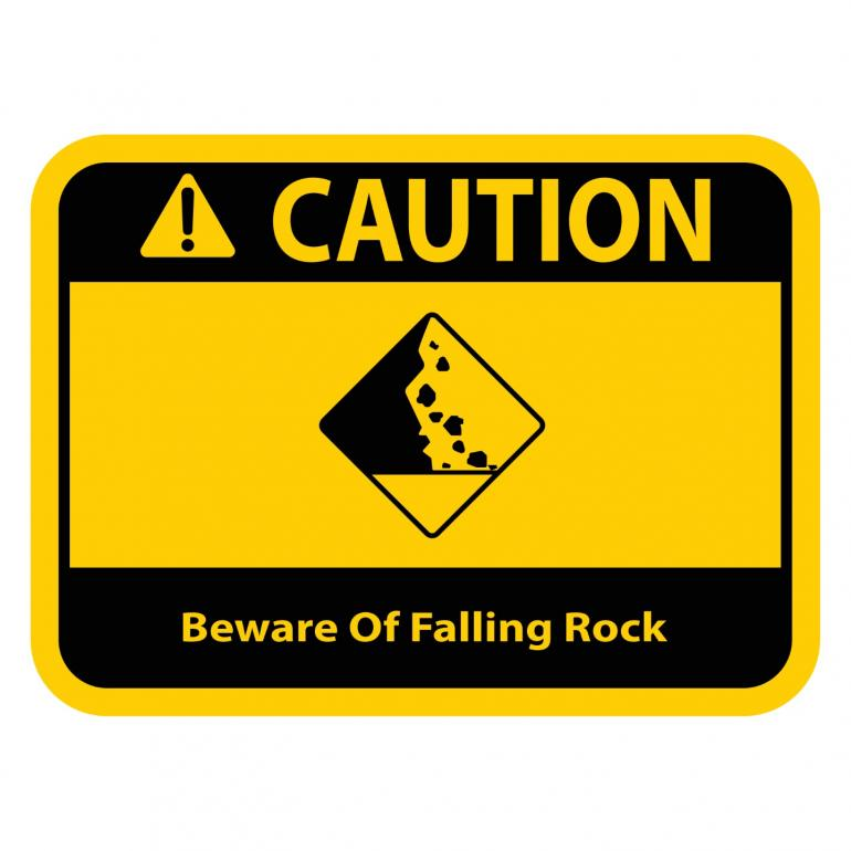 Beware of Falling Rock