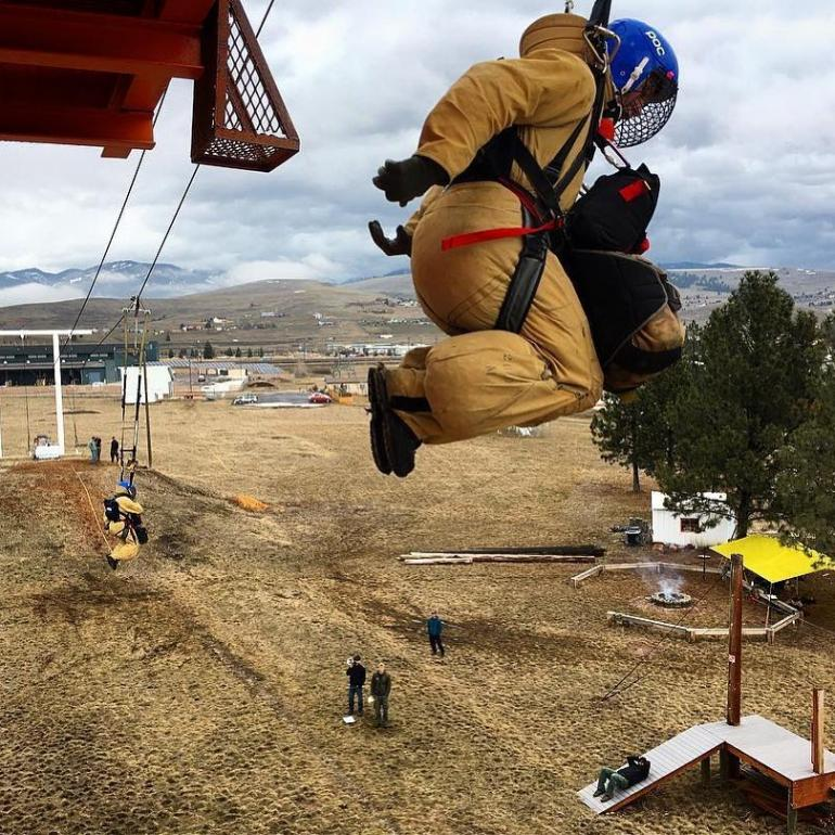 Smokejumper Training Exercises