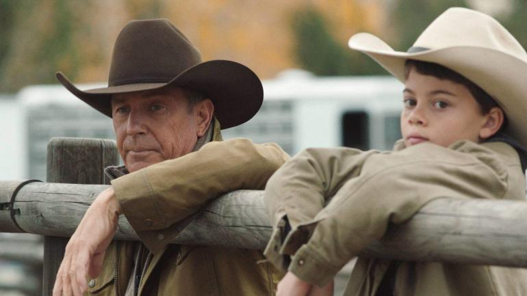 Dutton and Tate Yellowstone promo