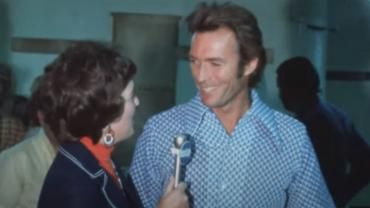 Clint Eastwood on KRTV with Norma Ashby