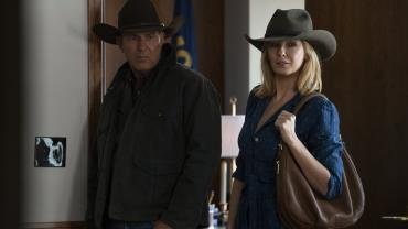 Yellowstone film still - The Duttons