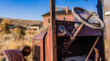 Old Truck at Bannack