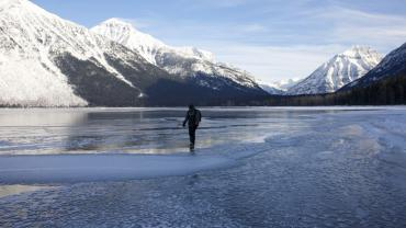 Glacier lake figure