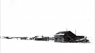 Crow Agency in Winter, 1899