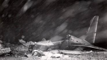 C47 Crash at Billings, 1945