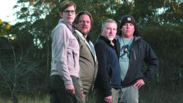 "Cast of television show ""Finding Bigfoot"""