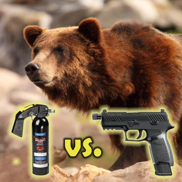 Gun vs. Bear Spray