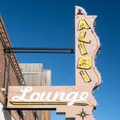 The Alibi Lounge in Shelby, Montana