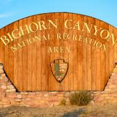 Bighorn Canyon National Recreation Area - Welcome Sign