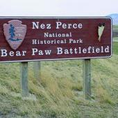 Nez Perce National Historic Park - Bear Paw Battlefield Monument